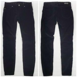 Blank NYC Black Corduroy Skinny Pants 28